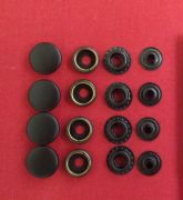 PRESS STUD REPLACE REPAIR KIT MEND IXS BMW RUKKA HEIN GERICKE Black Satin Face